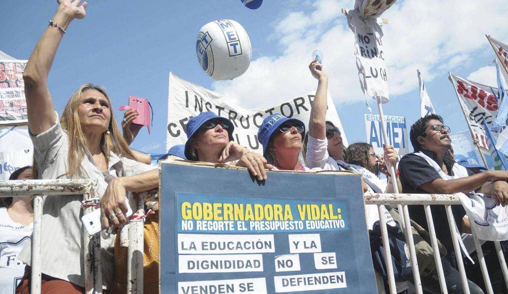 Con el paro bancario, culmina una semana de huelgas en la Provincia