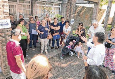 Protesta y enojo vecinal contra el servicio de Absa