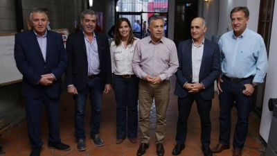 El jefe de la UCR objetó que Gabriela Michetti vuelva a ser la vice de Mauricio Macri en 2019