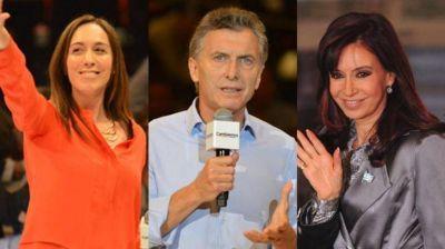 Cuestión de imagen con la mira puesta en 2019: Vidal le gana fácil a Macri y a Cristina