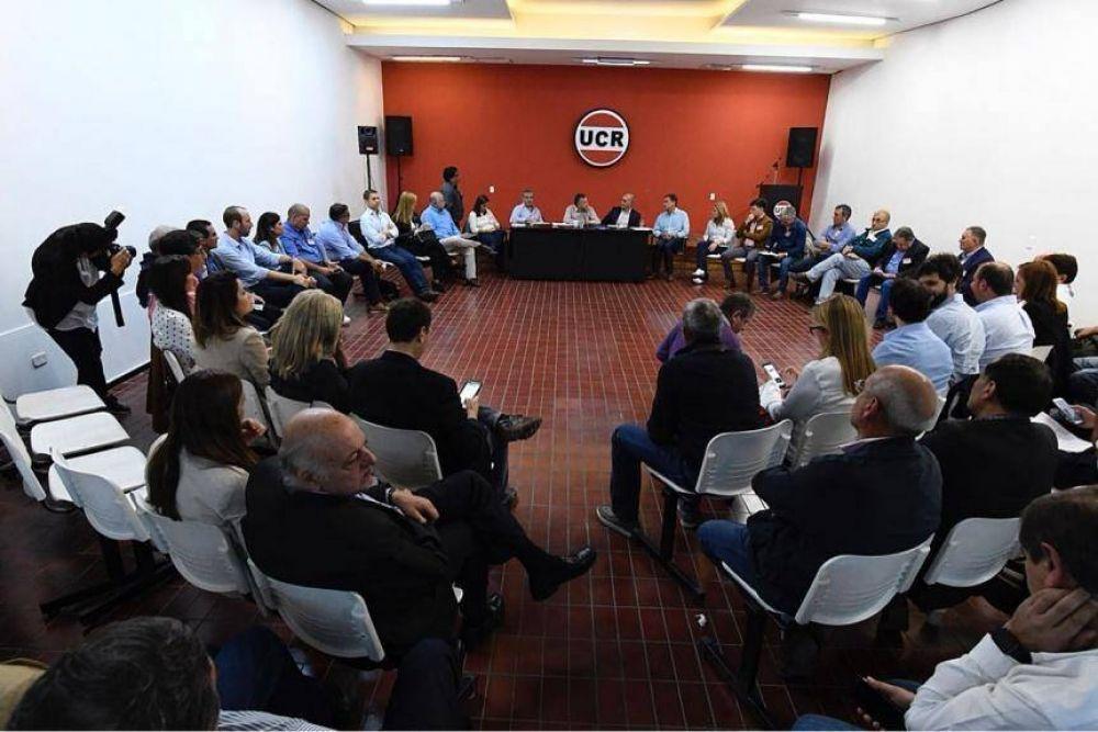 El Pro y la UCR, cara a cara: ¿Los boina blanca de la Provincia empiezan a ver como Alfonsín?