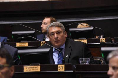 Para D'Onofrio la gestión de Vidal es