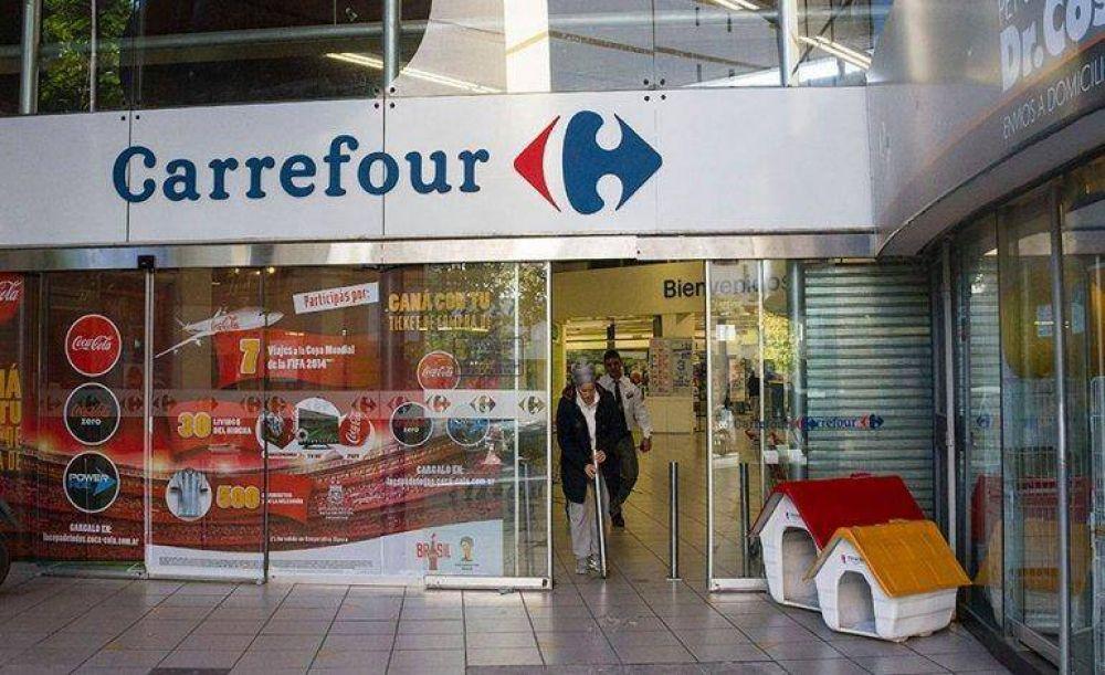 Los trabajadores rechazan el plan de ajuste de Carrefour