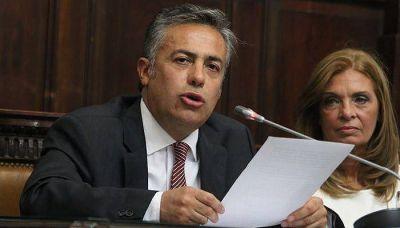 Cornejo le pidió al PRO