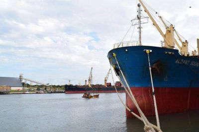 10ABR2018Más cargas para Puerto Quequén en el primer trimestre