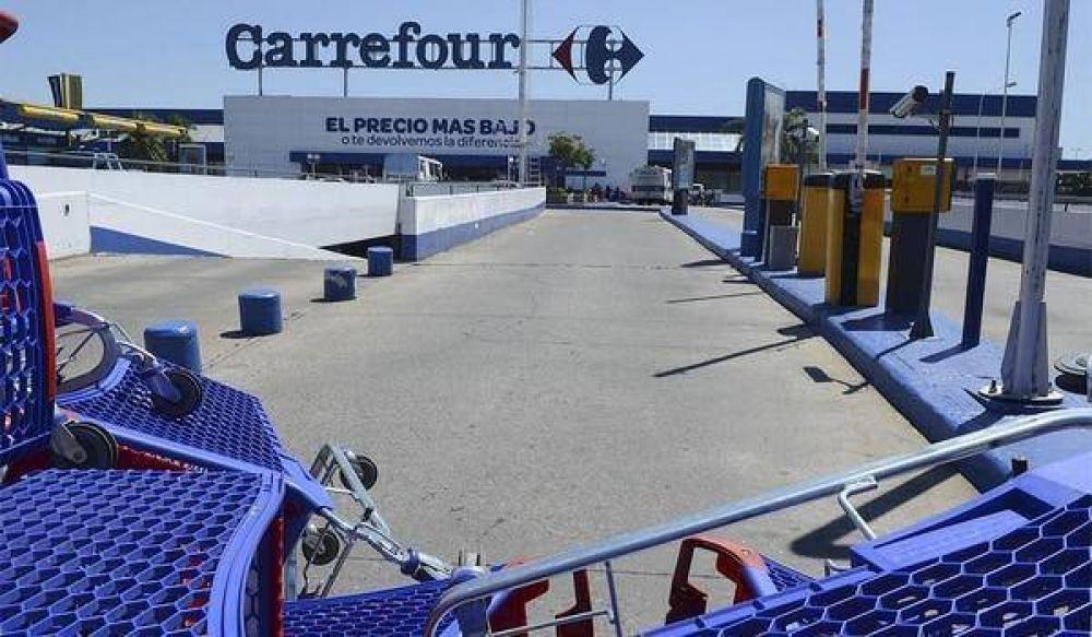 Carrefour y el sindicato de Comercio negocian una salida a la crisis