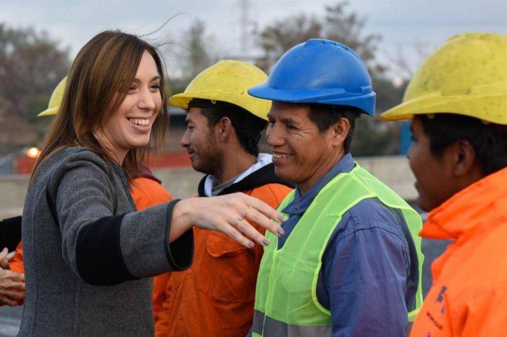 Los municipios kirchneristas, entre los más favorecidos con obras por María Eugenia Vidal