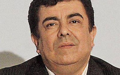 Fernando Espinoza estuvo en la Rosada con Macri y Peña
