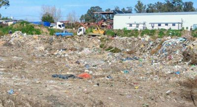 La justicia intima al municipio para que realice las tareas saneamiento en el predio donde funcionaba el basural clandestino