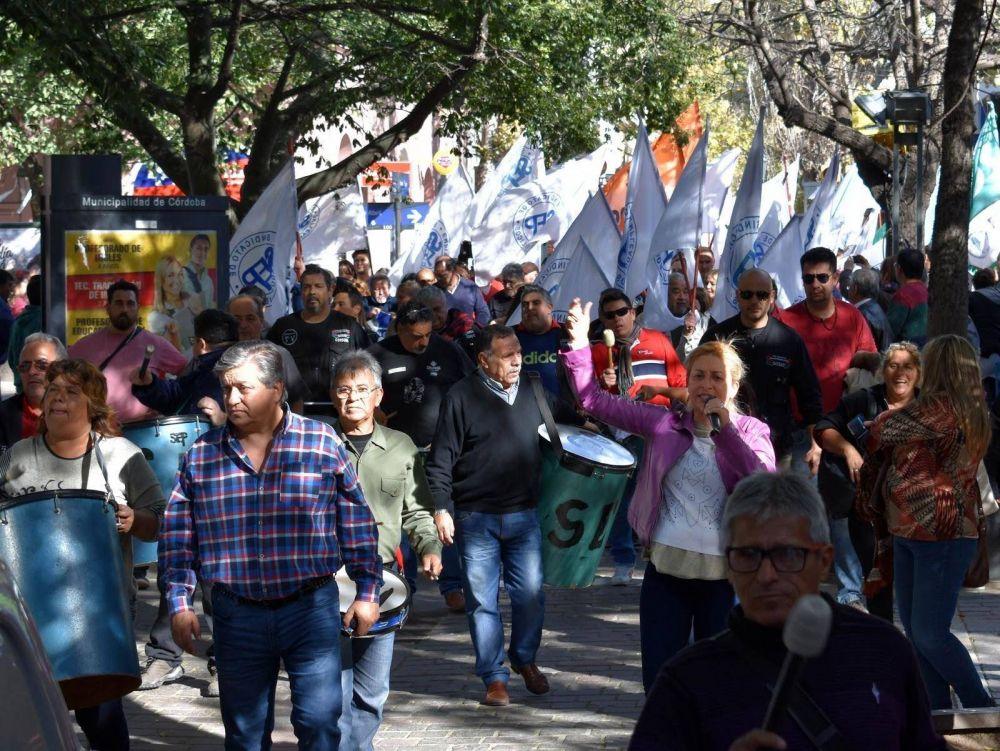 Protesta del SEP en el hospital Córdoba