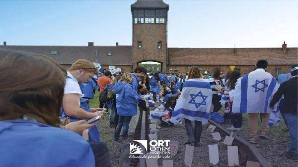 Embajadores de la memoria: el documental de ORT que muestra la conmovedora experiencia de los alumnos en la Marcha por la Vida