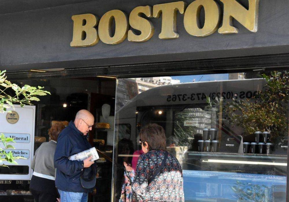 Retención de tareas en la confitería Boston