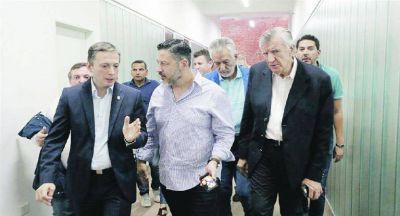 """Fallida mediación de Scioli en PJ y llamado de Duhalde: """"Yo no fui"""""""