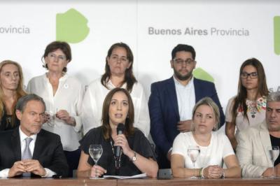 Vidal anunció una reforma integral del sistema judicial bonaerense