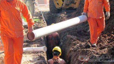 Autoridades municipales y provinciales presentaron el Plan de Obras Cloacales para Cañuelas
