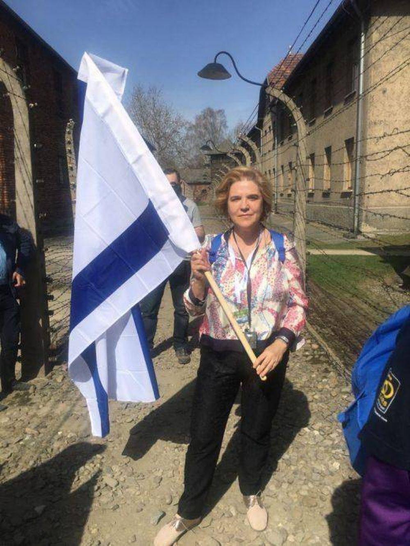 Pilar Rahola participa de Marcha Por la Vida 2018