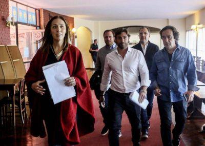 Cierre del retiro de trabajo de Vidal con la presencia de Durán Barba