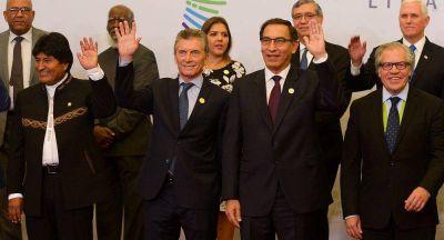 Macri dijo que la situación en Venezuela es