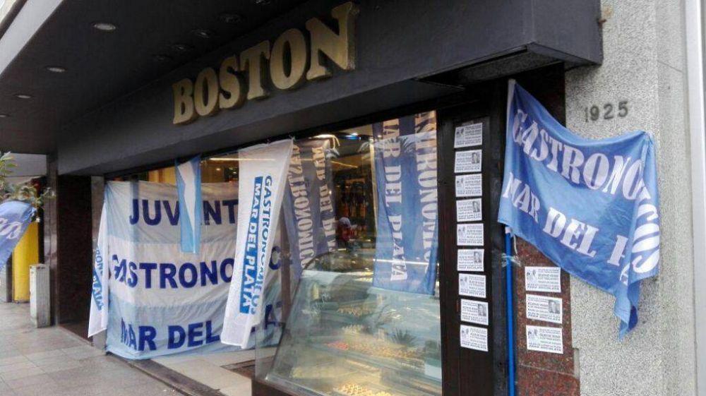 Empleados de la Boston iniciaron una nueva retención de tareas