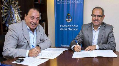 UPSSA y el Sedronar sellaron un acuerdo de prevención contra adicciones