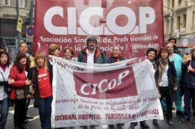 Cicop llama al resto de los gremios bonaerenses para exigir al gobierno mejores condiciones salariales