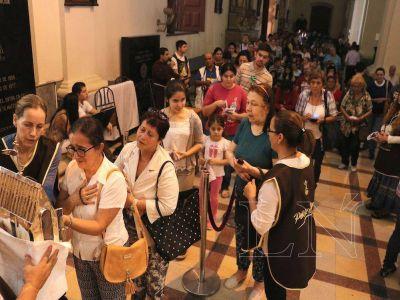 Fenómeno de San Pío hizo pie en Catedral asuncena