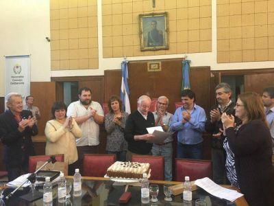 Homenaje a Juan Carlos Cordeau en el Concejo Deliberante