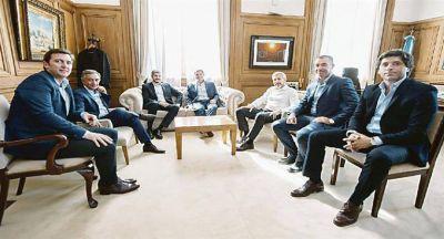 """""""Pax"""" con los gobernadores y nuevo staff para """"emiratos"""" PJ"""