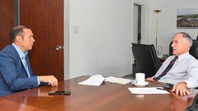 Gutiérrez anunció la obra de agua potable para Colonia Nueva Esperanza