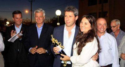Uñac y Gioja inauguraron el sistema cloacal del Barrio Las Garzas
