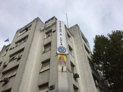 La CGT exige la libertad de Lula y convoca a marchar a la Embajada de Brasil