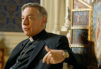 """Monseñor Aguer, polémico sobre el aborto: """"La cosa huele mal"""""""