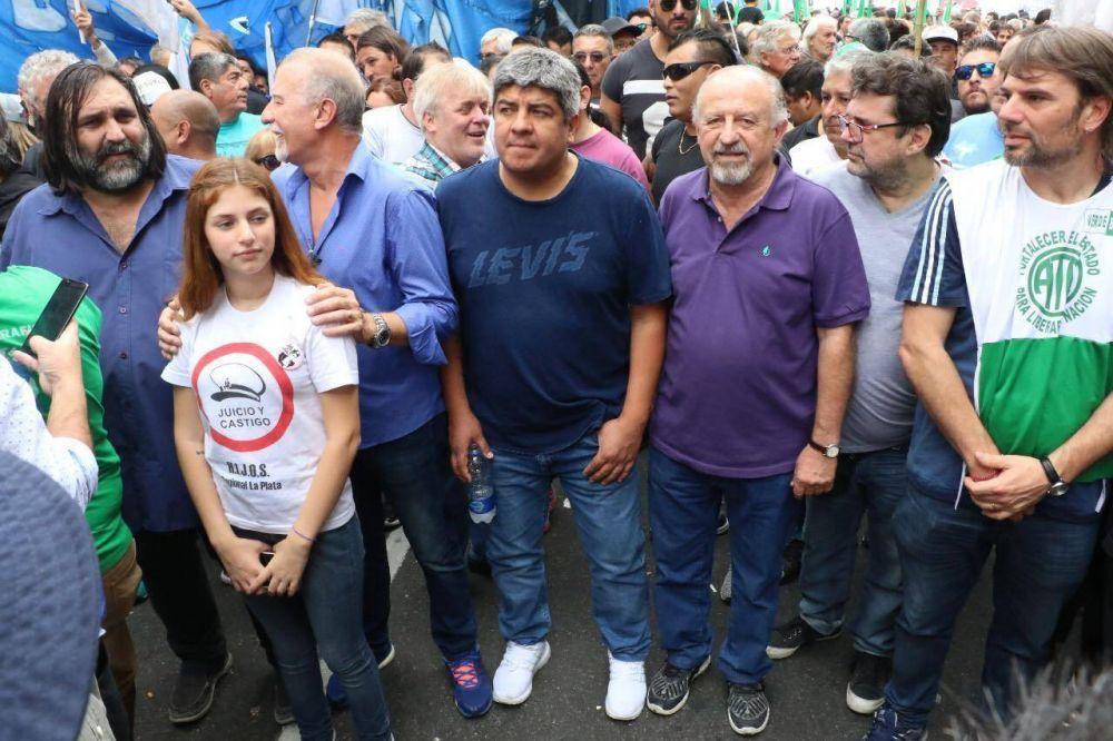 Sindicatos, pymes y organizaciones sociales marchan contra el tarifazo