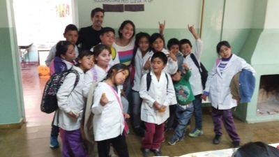 Campaña solidaria: estudiantes de Ingeniería ayudarán a 55 nenes de una escuela rural de Jáchal