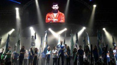 Ante una multitud, se realizó el acto por los 70 años del Estado de Israel