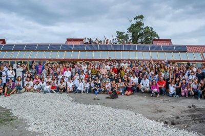 Se inauguró en Mar Chiquita la primera Escuela Sustentable de la Argentina