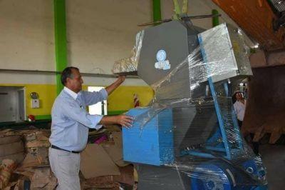 Villa Ángela es el primer Municipio de la Provincia en contar con una moledora de plástico