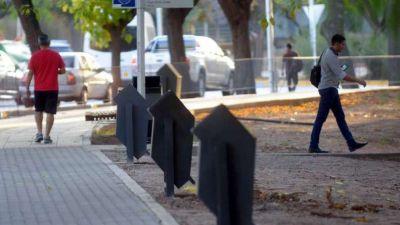 El Centro de Mendoza tiene más cestos para la basura