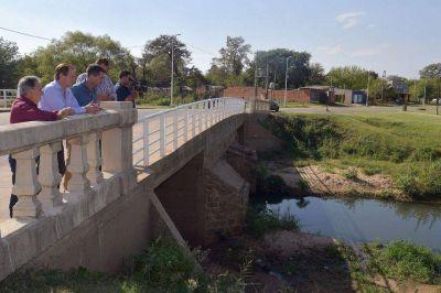 Bordet definió con Cresto obras de saneamiento e infraestructura deportiva para Concordia