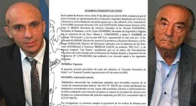 Este es el acuerdo firmado entre Carrefour y el Sindicato de Comercio