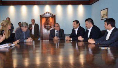 La Capital presentó al gobernador un plan de obras prioritarias para la ciudad