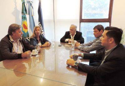 La UCIP y la CGT hermanados por los problemas que sacuden al pueblo