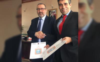 Intendente de Necochea firmó en Marruecos un memorándum con la ciudad de Tánger