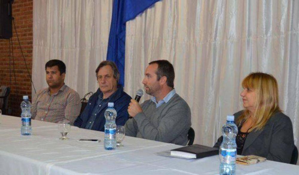 Presentan el Plan Director de Cloacas para Catriel