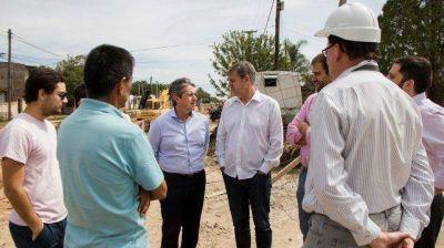 Avanza la obra del desagüe Gorriti