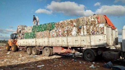 Recuperación y reciclado de 810 toneladas de basura