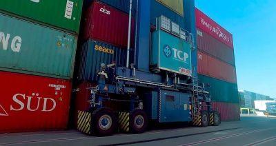 TCP Brasil logra récords de volumen en operatoria de contenedores