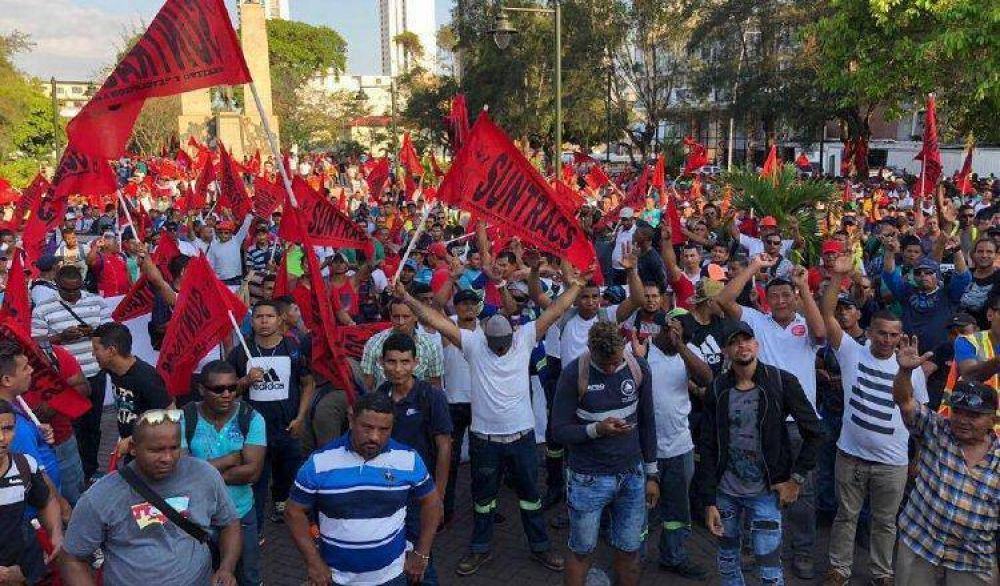 El poderoso Sindicato de la Construcción de Panamá hace sentir su malestar