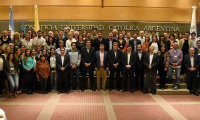 Pellegrini presente en el primer encuentro de la Mesa Ambiental Bonaerense