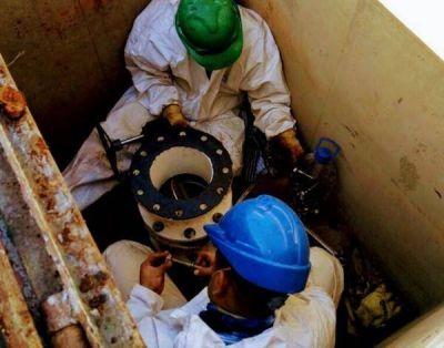 Reparan rotura en planta potabilizadora de Servicoop